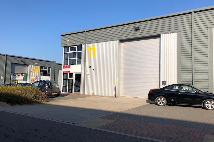 Unit 11 IO Centre, Salfords, Warehouse & Industrial To Let - Frontofbuilding-crop.jpg