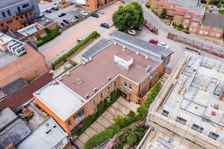 17 Bartholomew Street, Newbury, Office / Development / Residential For Sale - NewburyBuildingSocietydrone18.jpg