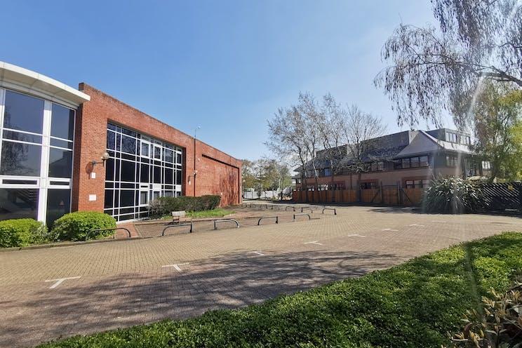 Unit C5 Octimum, Kingswey Business Park, Woking, Warehouse & Industrial To Let - side elevation.jpg