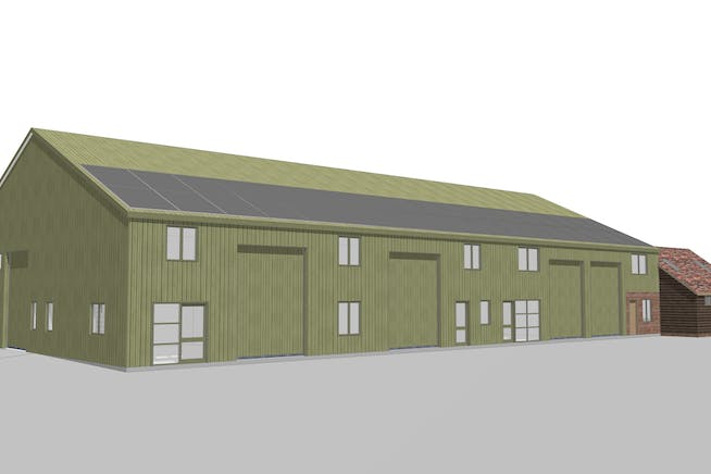 Industrial units, 68 Worminghall Road, Oakley, Industrial To Let - 1269 BC barn - South View.jpg