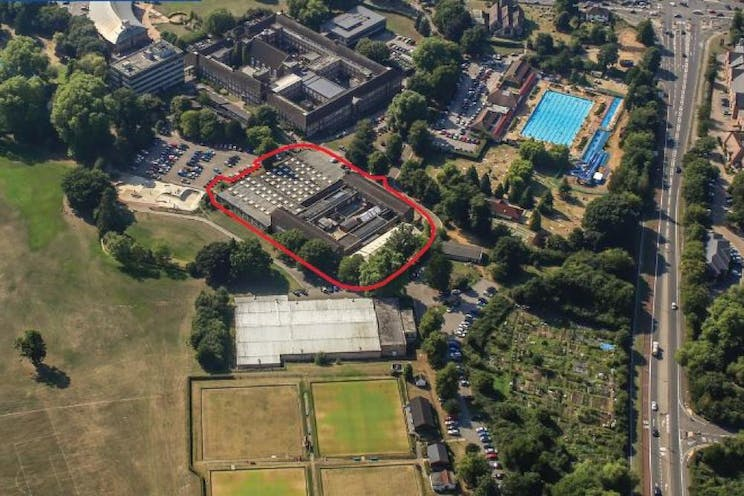 Former Construction And Technology Buildings, Guildford College Campus, Guildford, Development (Land & Buildings) For Sale - Construction and Technology Buildings