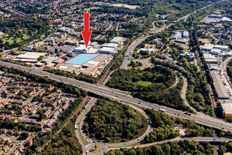 Albany Point, Albany Park, Frimley, Warehouse & Industrial To Let - 2019 PR site and location.jpg