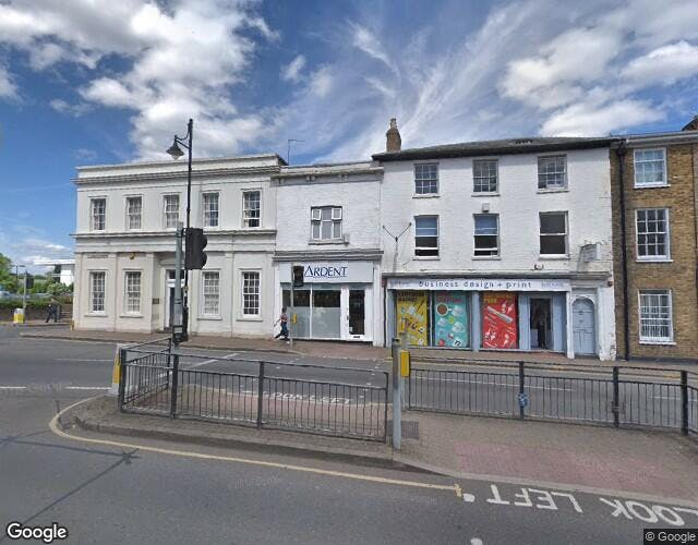 39 Clarence Street, Staines, Office / Retail To Let - StreetMap