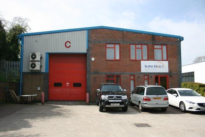 Unit C Grovebell Estate, Wrecclesham Road, Farnham, Warehouse & Industrial To Let - Front Shot