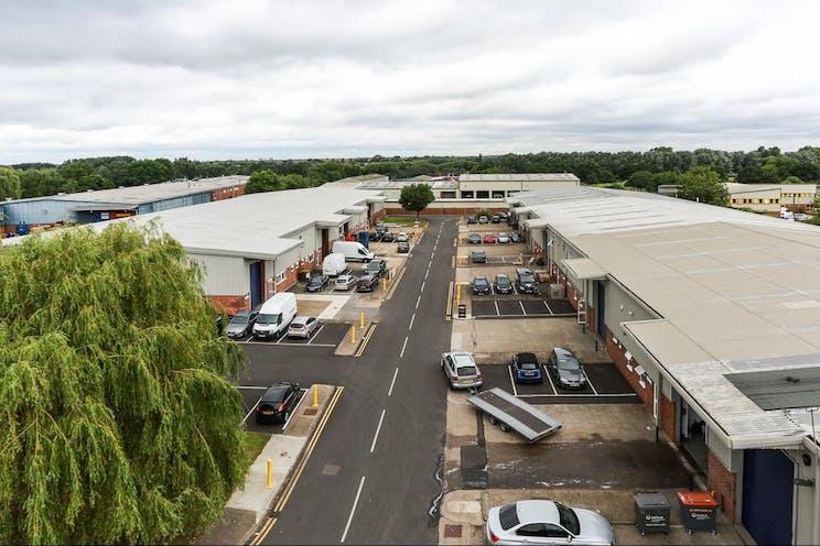 Unit D6 Sandown Industrial Estate, Esher, Warehouse & Industrial To Let - HighLevelExternal.jpg