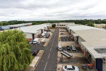 Unit D6 Sandown Industrial Estate, Esher, Warehouse & Industrial To Let - HighLevelExternal.jpg