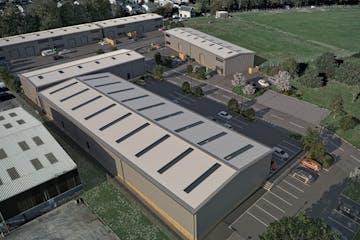 Corsham Science Park, Park Lane, Corsham, Industrial To Let - Corsham Aerial Montage.jpg