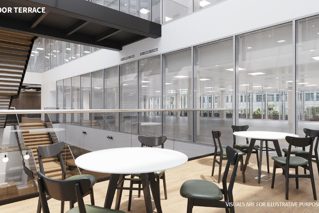 The Dock, Kings Langley, Kings Langley, Offices To Let - Indoor terrace CGI.PNG