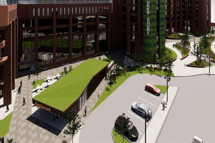 5th Floor Block D, Dukes Court, Woking, Offices To Let - Dukes court proposed external3.jpg