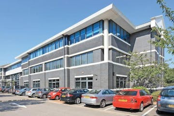 Three Watchmoor Park, Camberley, Offices To Let - Front view of THREE Watchmoor Park.JPG