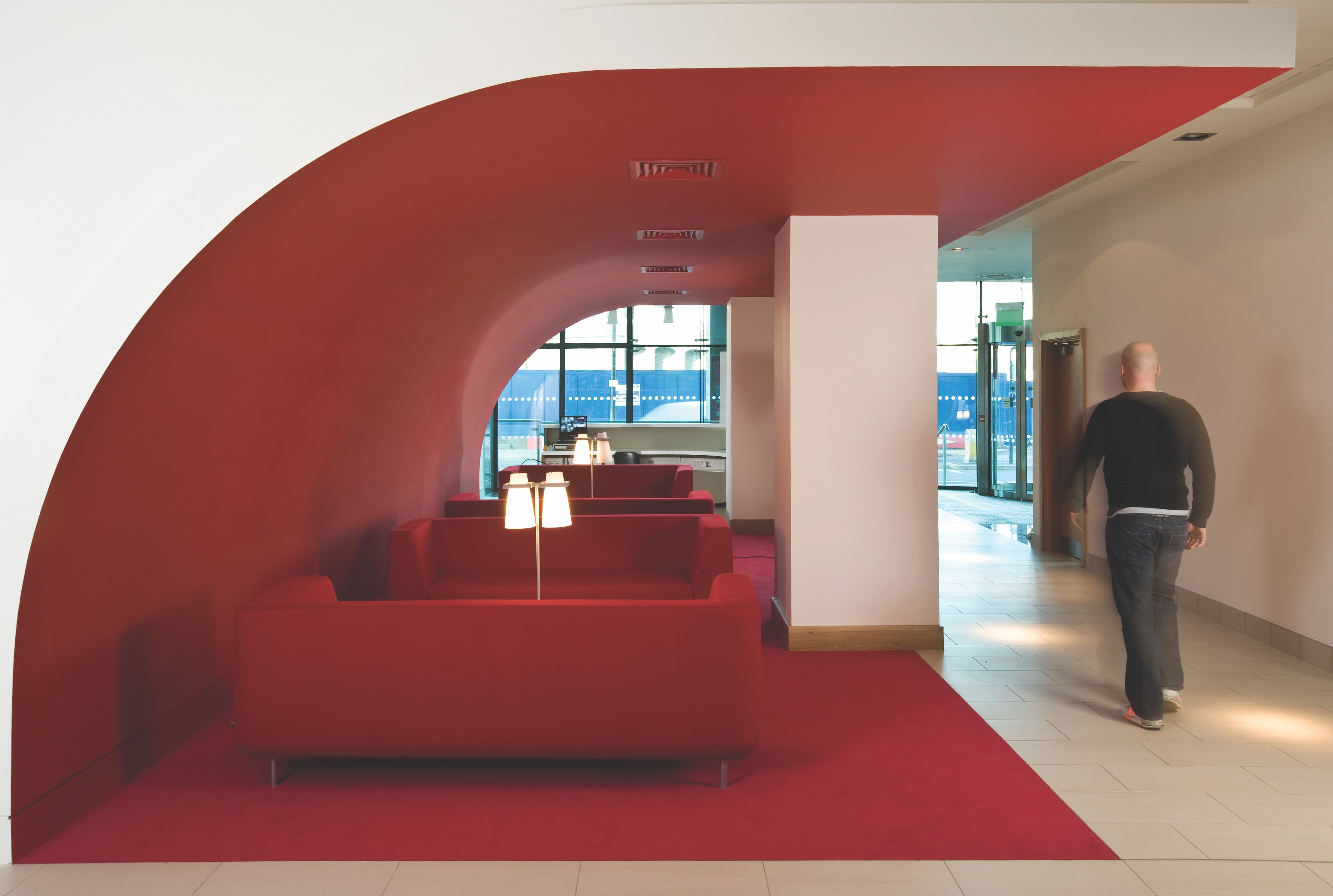 Saville House, Sheffield, Offices To Let - Saville House Reception.jpg