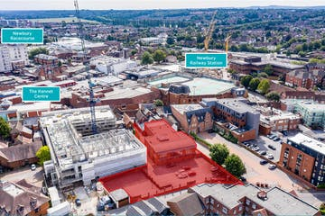 17 Bartholomew Street, Newbury, Office / Development / Residential For Sale - Annotated Aerial.jpg
