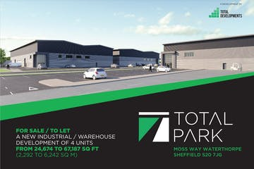 Total Park, Sheffield, Sheffield, Distribution Warehouse To Let - TP Sheffield.JPG