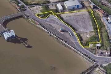 Land At Pier Road, London, Land To Let - Picture1.jpg