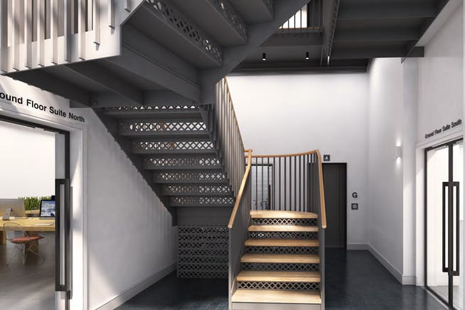 7-10 Beaumont Mews, London, Offices To Let - Entrance CGI