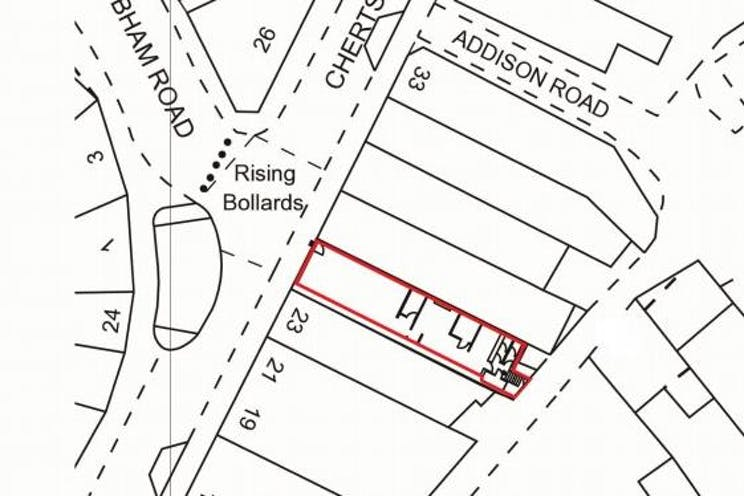 25 Chertsey Road, Woking, Retail To Let - 25 Chertsey Road Site Plan.jpg