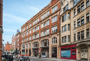 40-44 Newman Street, Fitzrovia, Office To Let - 40-44 Newman Street, Fitzrovia, office for rent, building external ┬®JSP_LowRes.jpg - More details and enquiries about this property