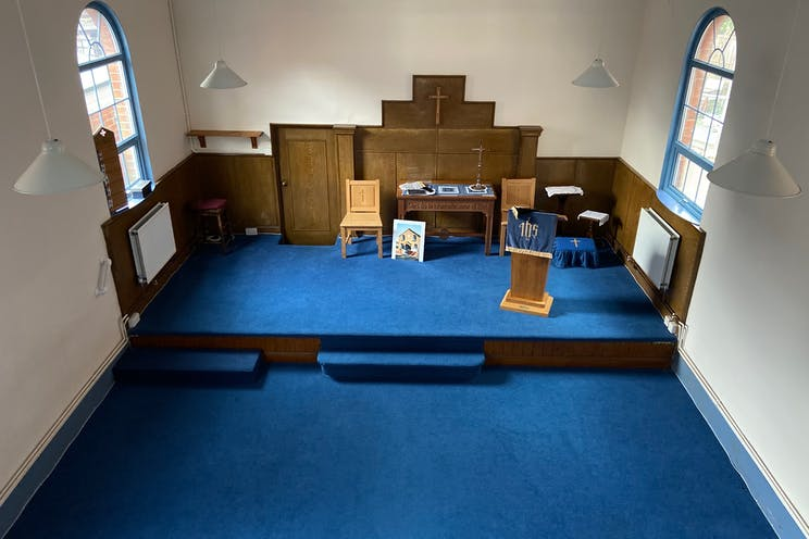 Winkfield Row Methodist Church, Winkfield Row, Bracknell, D1 / Development / Land For Sale - View from within the main hall