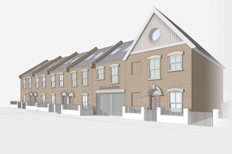 Primrose Mews, 112 Pembury Road, Tonbridge, Development (Land & Buildings) For Sale - Proposed scheme image 1.JPG
