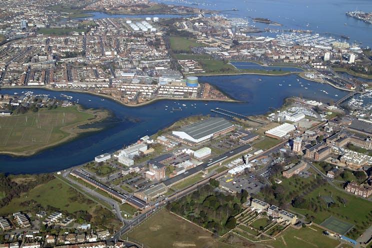 Suite 37, Building 23, Haslar Marine Technology Park, Gosport, Office To Let - Aerial Image, Haslar (2006 image) - Chris Brunnen 11022020.jpg