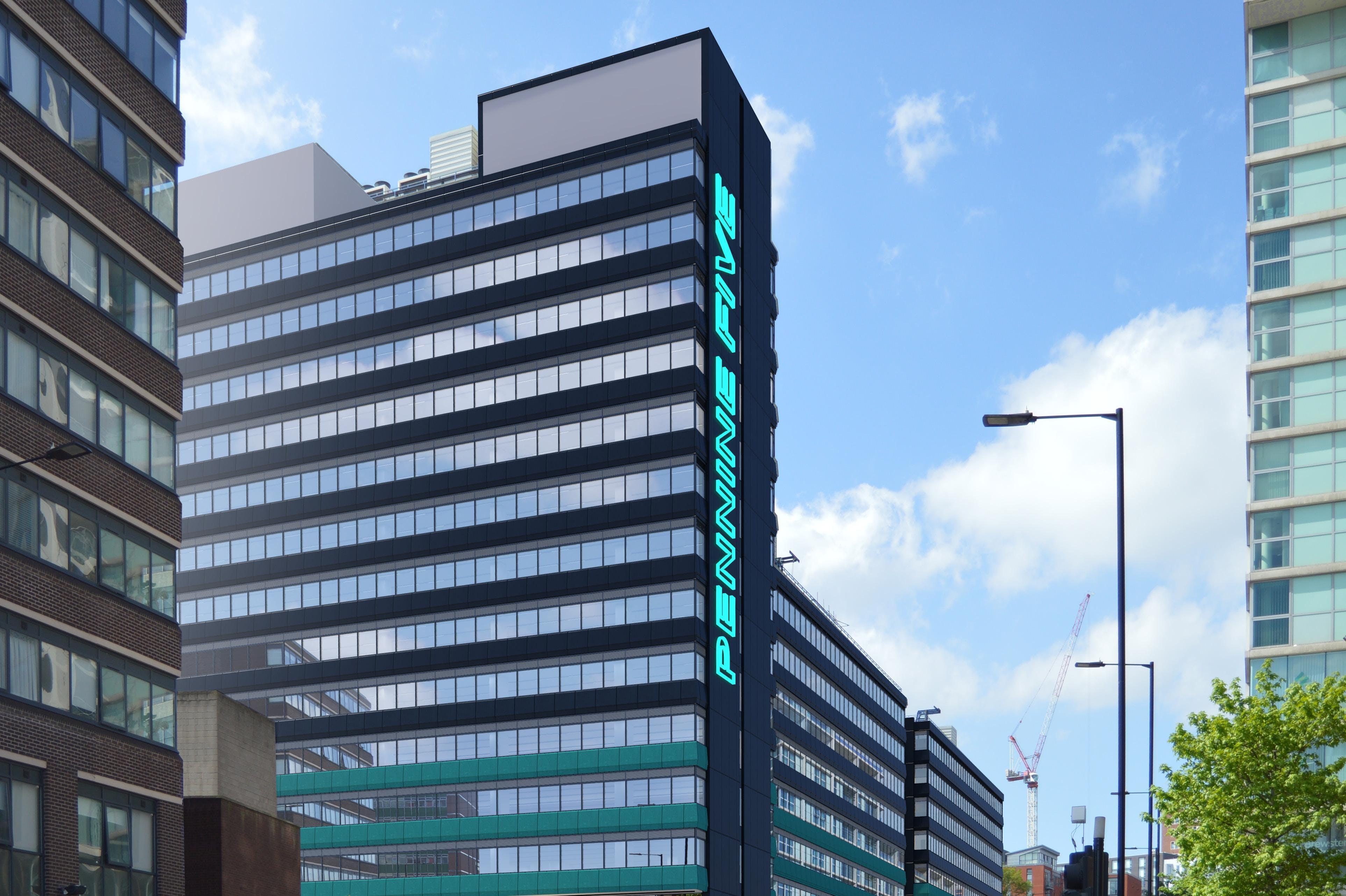 Pennine Five, Tenter Street, Sheffield, Offices To Let - P5 - Street Image 1.jpg