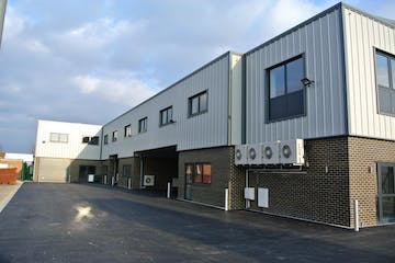Unit 34D, Central Park Estate, Central Avenue, West Molesey, Warehouse & Industrial To Let - Unit 34d Central Park - front photo.pdf.jpg