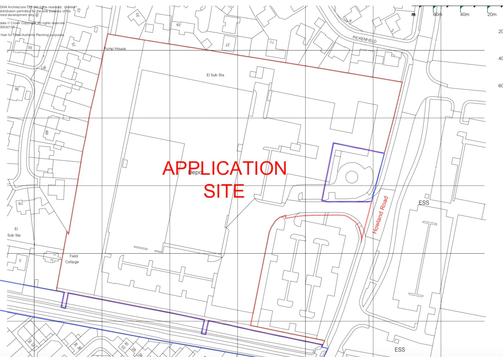Office Development Land, Daf Trucks Eastern Bypass, Thame, Office / Land For Sale - SITE PLAN.jpg