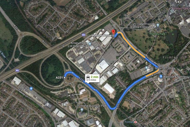 Hudson House, 5 Albany Park, Camberley, Warehouse & Industrial To Let - Capturemap.JPG