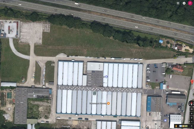 Plot 56, A27 Poling Nr Arundel To Let - Vinery Site Aerial.JPG