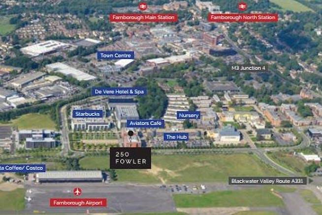 250 Fowler Avenue, Farnborough Business Park, Farnborough, Offices To Let - site view.JPG