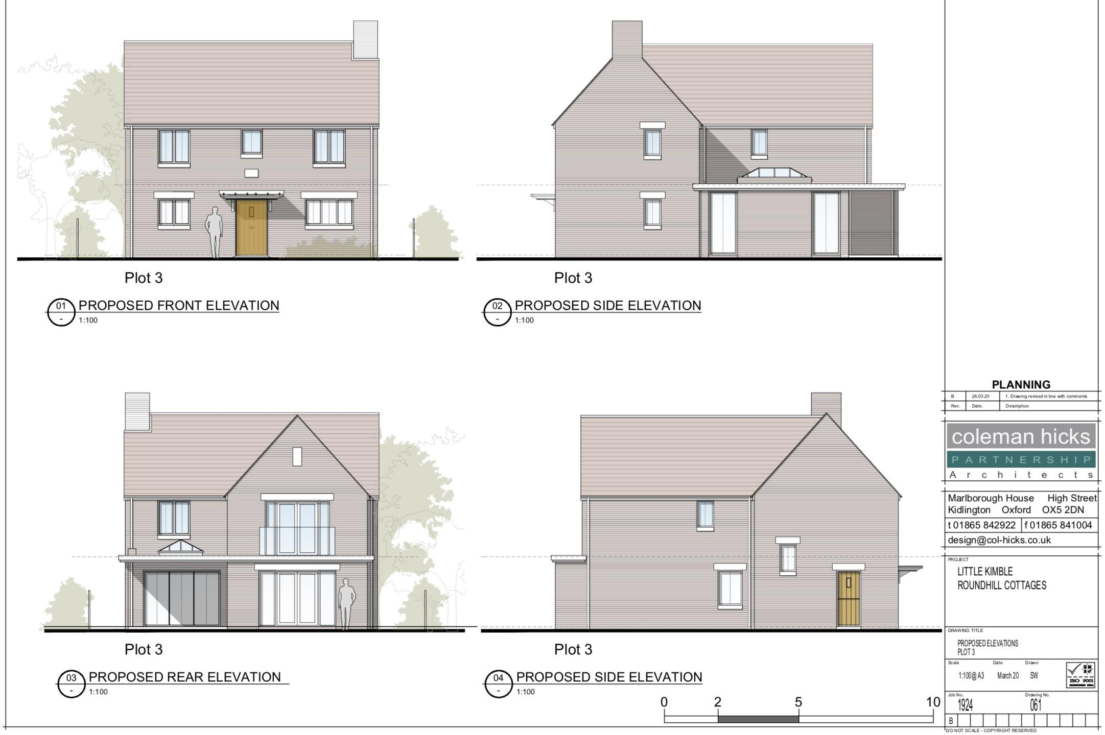 Building Plots, Roundhill Cottages Kimblewick Road, Little Kimble, Residential For Sale - ELEVATIONS.jpg