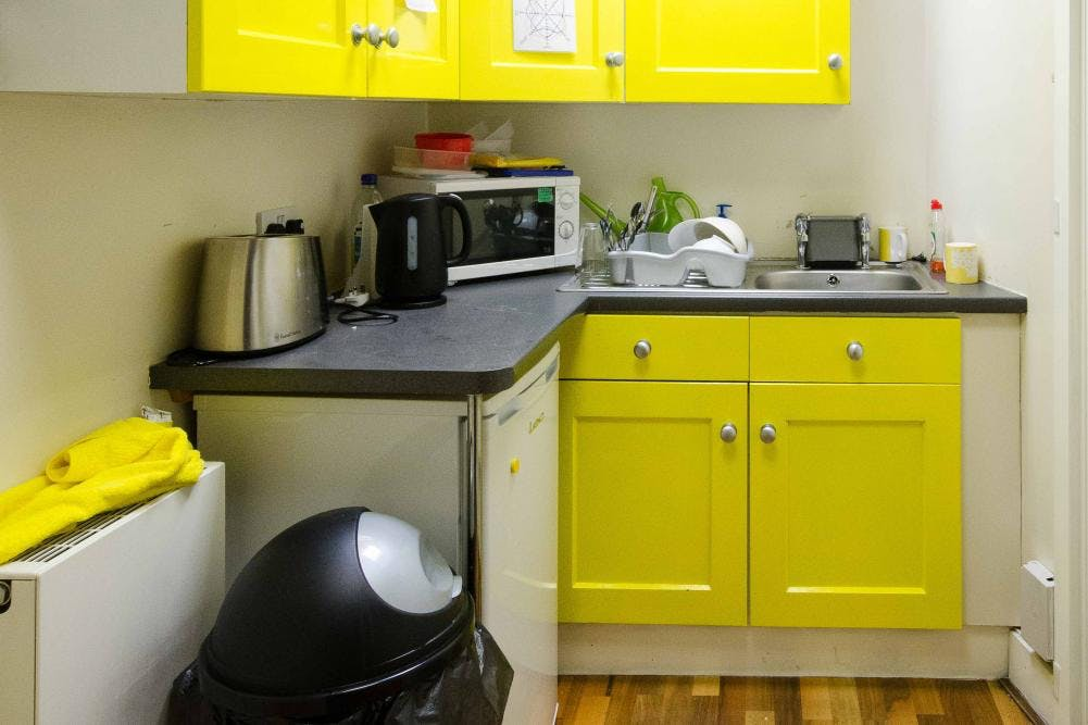 Brooklyn Works, Sheffield, Offices To Let - internal - kitchen