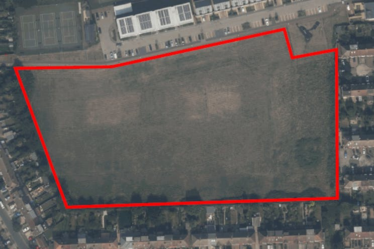 Land At The Former LESSA Sports Ground, Meadowview Road, London, D2 To Let / For Sale - Aerial Photo.jpg