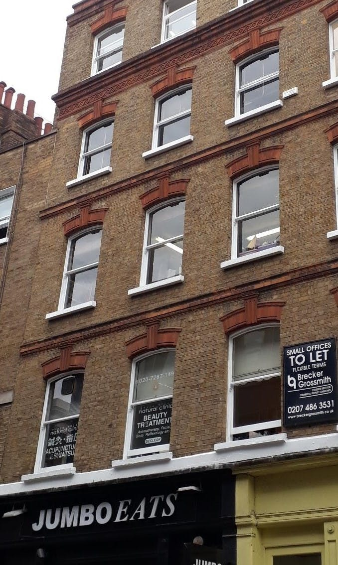 59-61 Brewer Street, London, Office To Let - 59-61 Brewer St front top.jpg