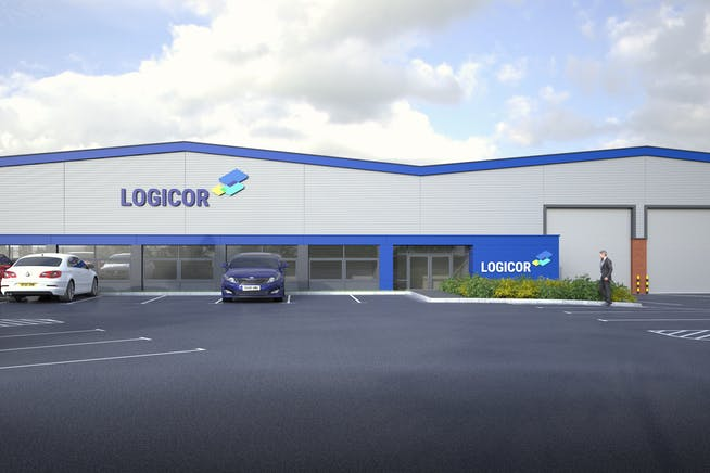 Unit 1 Midland Trading Estate, Rugby, Distribution Warehouse To Let - Logicor Visual View 1.jpg