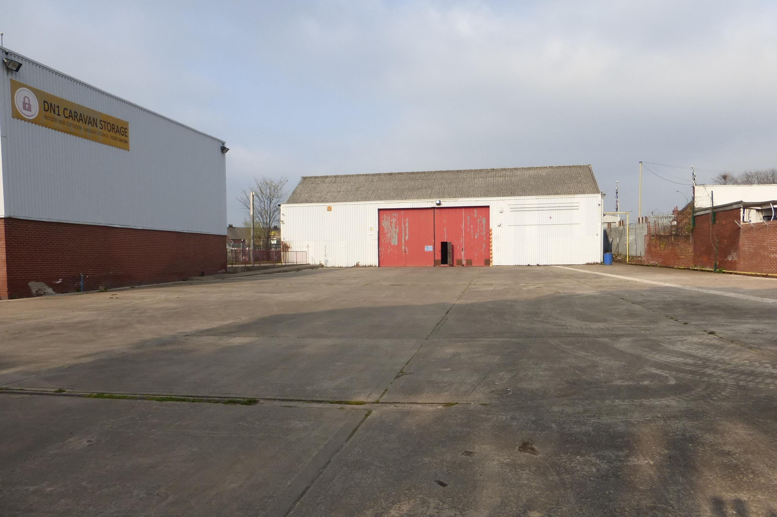 Milethorn Works, Milethorn Lane, Doncaster, Warehouse & Industrial To Let - Front elevation and yard