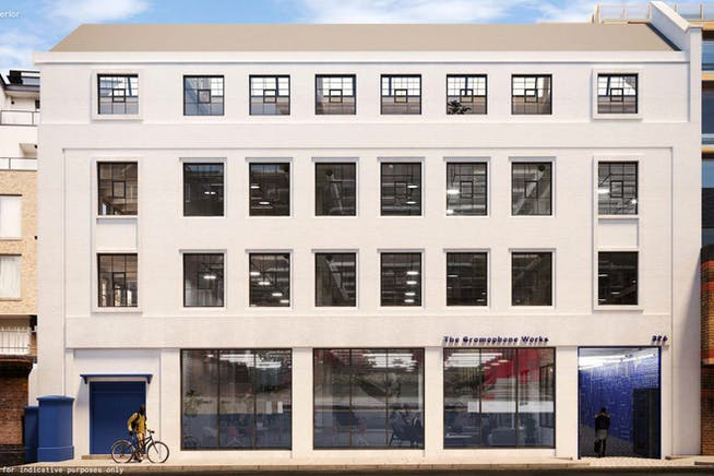The Gramophone Works, Kensal, Kensal Town, Offices To Let - External CGi
