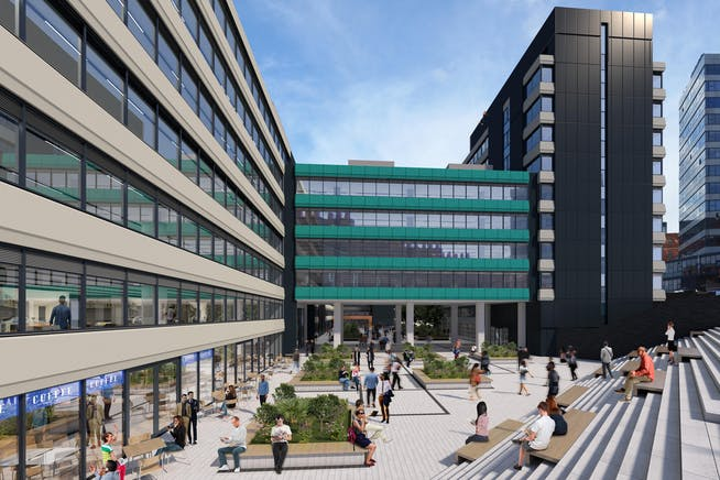 Pennine Five, Tenter Street, Sheffield, Offices To Let - P5 - Plaza View 02.jpg