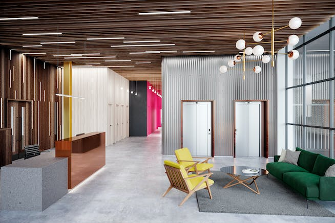 272 Gunnersbury Avenue, Chiswick, Chiswick, Offices To Let - Material Works_Chiswick Place_Reception_WEB.jpg
