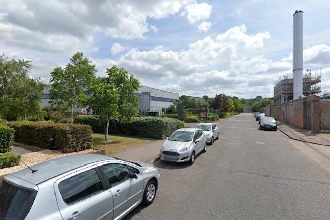 Unit D, Lutyens Industrial Centre, Basingstoke, Warehouse & Industrial To Let - Street View