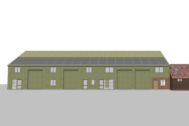 Industrial units, 68 Worminghall Road, Oakley, Industrial To Let - 1269 BC barn - South View2.jpg