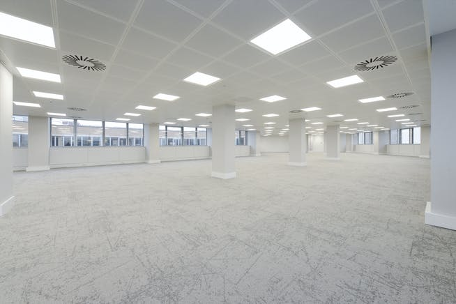 East West Building, Nottingham, Office To Let - Floor 7 East to West side angle.jpg