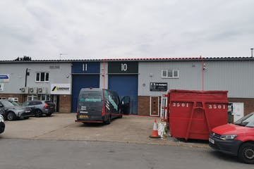 Unit 10 Bookham Industrial Estate, Bookham, Warehouse & Industrial To Let - Unit10ExternalRedLineJune20.jpg