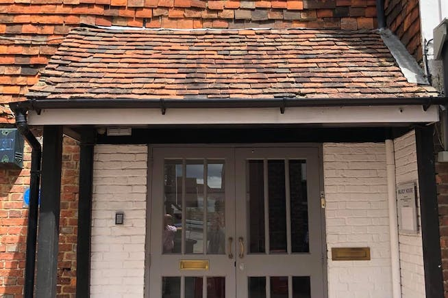 Milroy House, 19-21 High Street, Tenterden, Office To Let - Milroy House Front Porch.jpg