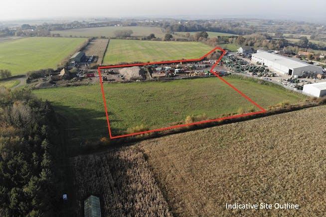 Industrial Development, Rycote Lane Farm, Milton Common, Office / Industrial To Let - SITE OUTLINE.jpg