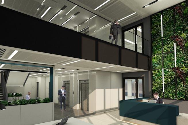 Pinehurst Square 110, Farnborough Business Park, Farnborough, Offices To Let - 110 Reception View  201106.jpg