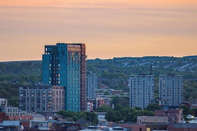 New Era Square: Retail/Leisure, Boston Street, Sheffield, Retail / Other To Let - New Era - Skyline Image.jpg