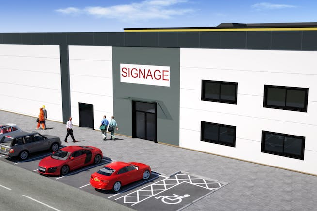 Golden Gate Park, Belgrave Circle, Leicester, Distribution Warehouse To Let / For Sale - Empolyment centre 2 FINAL.jpg