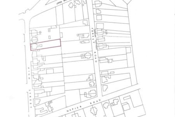 19 High Street, Crowthorne, Retail To Let - Title plan.JPG