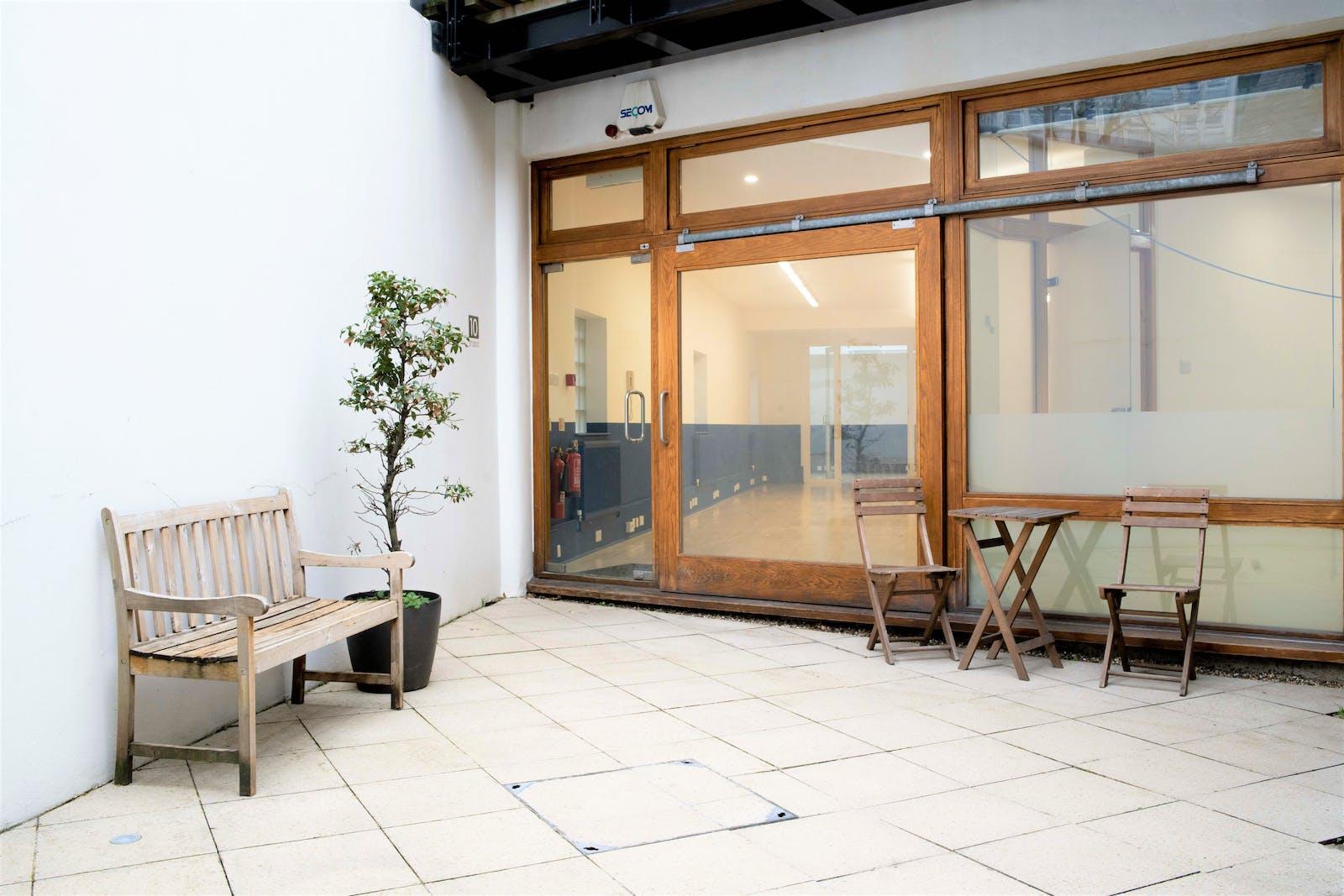 Studio 10 Tiger House, Burton Street, London, Office To Let - tigerhousefrontcourtyard.jpg
